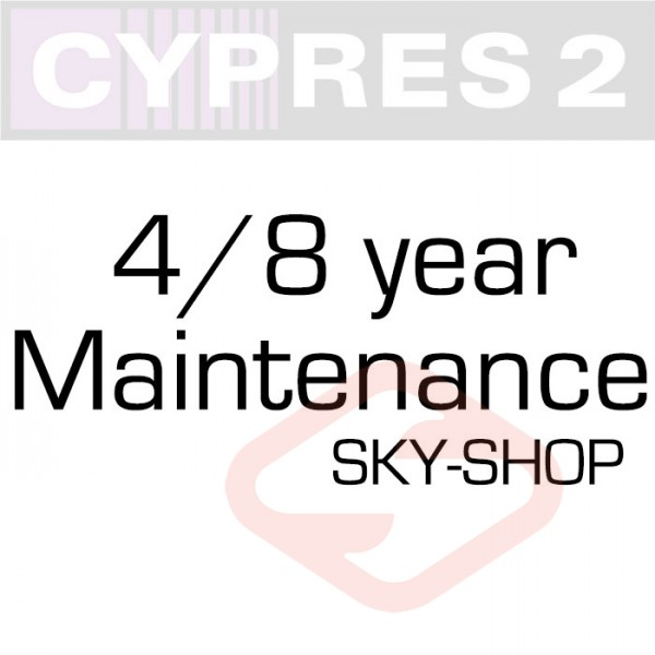 Cypres 4/8 or 5/10 Years maintenance