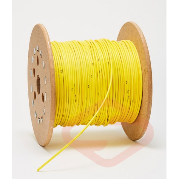 Yellow Three Ring Release Cable